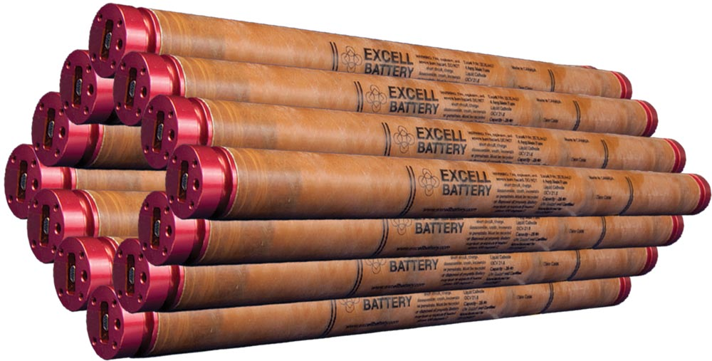 High Temperature Downhole Lithium Battery Pack