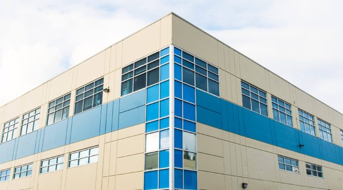 Exterior shot of the Excell location in Surrey, BC